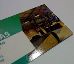 Cartões de visita 250g